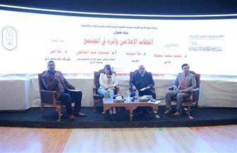المشاركون في ندوة الأزهر بمعرض الكتاب يؤكدون: الخطاب الإعلامي لابد أن يرعى مصلحة المجتمع| صور