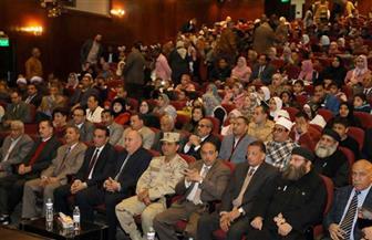 محافظ قنا يشهد احتفال قصر الثقافة بعيد الشرطة