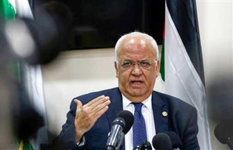 استعدادات لجنازة كبير المفاوضين الفلسطينيين صائب عريقات وسط مراسم عسكرية