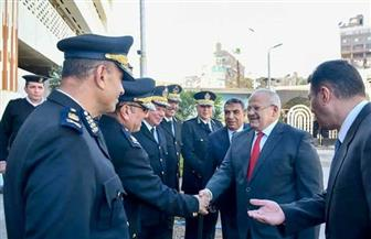 رئيس جامعة القاهرة يؤكد اعتزاز المصريين برجال الشرطة | صور