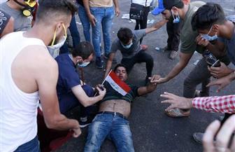شهود عيان: مقتل متظاهرين عراقيين اثنين في الناصرية.. وإصابة 10 آخرين