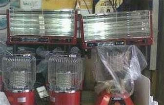 ضبط 400 دفاية مجهولة داخل مصنع غير مرخص بالقاهرة