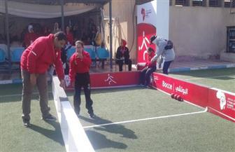 نتائج نصف نهائي التقسيم الأول بمنافسات البوتشي في الألعاب الإفريقية للأولمبياد الخاص
