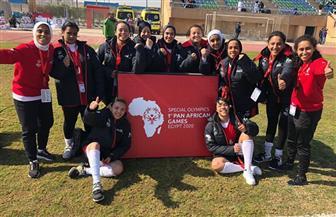 سيدات الكرة يفزن بخماسية على جنوب إفريقيا ببطولة إفريقيا للأولمبياد الخاص