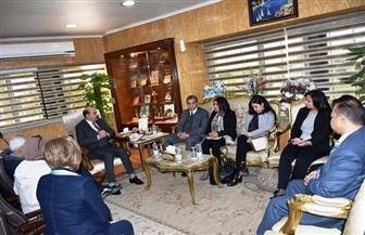 محافظ أسوان يلتقي وفد الوكالة الأمريكية للتنمية الدولية