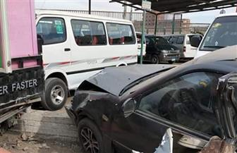 مصرع سائق وإصابة 7 آخرين في حادث تصادم بالشرقية