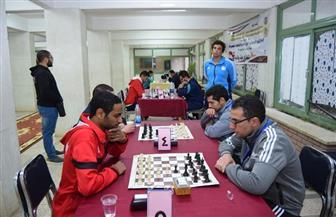 انطلاق فعاليات مسابقات الشطرنج وكرة القدم والطلاب المثاليين بجامعة سوهاج | صور