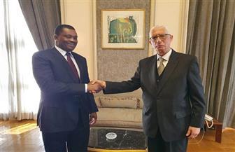 نائب وزير الخارجية يستقبل رئيس الجمعية الوطنية الكينية| صور