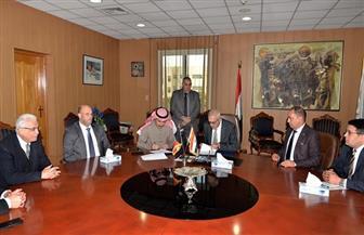 تجارة المنصورة توقع بروتوكول تعاون مع كلية ماسترخت الكويتية لمنح درجة الماجستير والدكتوراة| صور