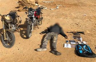 مصرع عنصر إجرامي خلال تبادل لإطلاق النار مع قوات الشرطة بالسويس