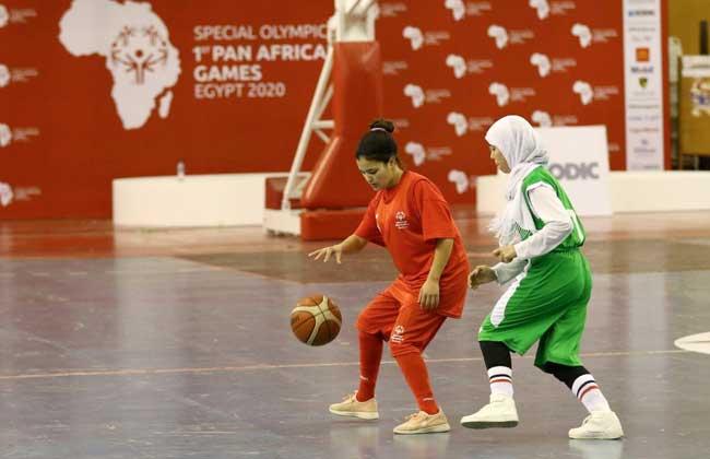 فوز سلة المغرب  بنات  على منتخب الجزائر في البطولة الإفريقية للأولمبياد الخاص -