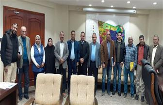 رئيس جهاز مدينة بدر يعقد عدة لقاءات مع سكان المدينة لبحث مقترحاتهم وشكاواهم|صور