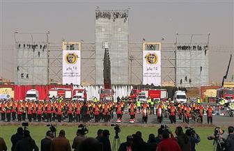 «الداخلية» تفتتح معرض معدات ومركبات بمناسبة عيد الشرطة