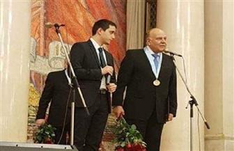 جامعة موسكو تكرم عمرو عزت سلامة وتمنحه الدكتوراه الفخرية| صور