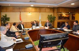 محافظ الغربية يستعرض مع ممثل رئاسة الوزراء موقف المشروعات المتعثرة | صور