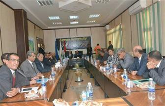 مجلس جامعة أسوان يوافق على برتوكول التعاون مع اتحاد شباب العرب للإبداع | صور