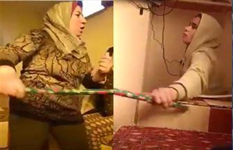 ضرب مبرح لفتاة بإحدى دور الأيتام في العاشر من رمضان  فيديو