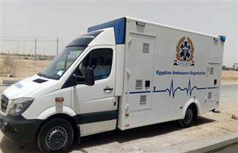 الصحة: سيارات إسعاف ذاتية التعقيم  لنقل حالات الاشتباه بالفيروسات المعدية| صور
