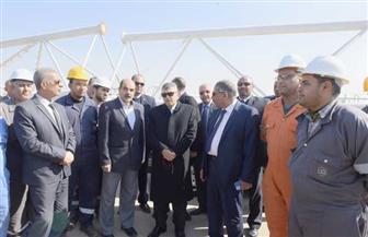 الفريق أسامة ربيع يتفقد أعمال حفر نفق الشهيد أحمد حمدي 2| صور