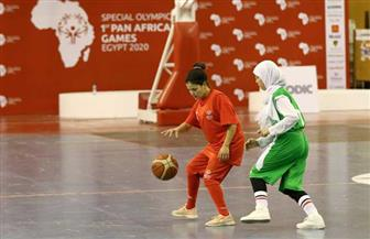 """فوز سلة المغرب """"بنات"""" على منتخب الجزائر في البطولة الإفريقية للأولمبياد الخاص"""