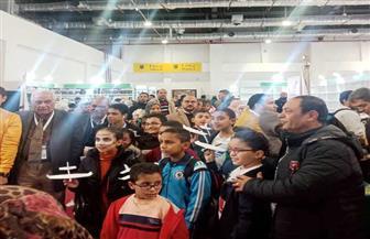 وزارة الطيران تعرف الأطفال بالطائرة وآداب السفر في معرض الكتاب