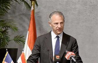 السفير الأمريكي عقب توقيع عقد مصنع الألياف الضوئية: ندعم الشركات التي تستثمر في مصر