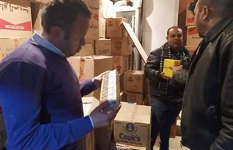إعدام 565 كيلو أغذية وسوائل فاسدة في حملة بطور سيناء