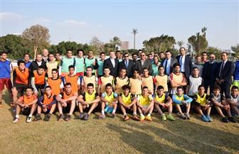 وزير الرياضة يشهد ختام اختبارات المشروع القومي لاكتشاف الموهوبين في كرة القدم