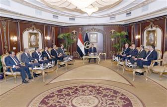 لتقديم التهنئة بعيد الشرطة.. وزير الداخلية يستقبل رئيس نادى القضاة وعددا من أعضائه