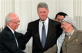 """"""" أوسلو"""".. أول اتفاقية رسمية مباشرة بين إسرائيل وفلسطين"""