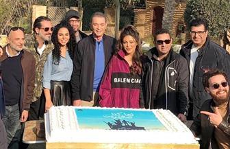 """ريهام حجاج تحتفل ببدء تصوير مسلسل """"لما كنا صغيرين"""""""