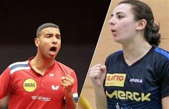 تأهل الزوجي المصري عمر عصر ودينا مشرف لدور الـ32 في بطولة  ألمانيا المفتوحة لتنس الطاولة