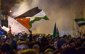 مسيرة غاضبة بالضفة الغربية بعد الإعلان عن خطة ترامب للسلام