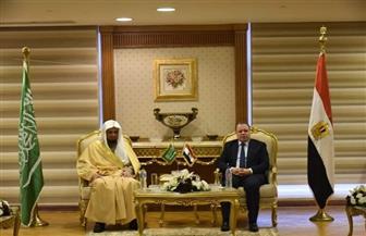 النائب العام يعقد لقاء ثنائيا مع نظيره السعودي بمصر| صور