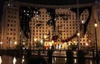 الإيطالي صاحب لوحة عمر الشريف على مجمع التحرير: أعطيت روحا للمباني