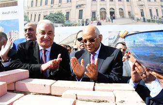 رئيس البرلمان يضع حجر الأساس لأكاديمية المحامين   صور