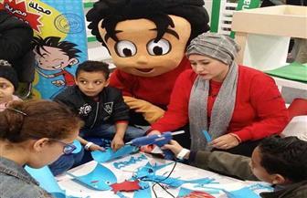 «أخطبوط البحر» في ورشة علاء الدين بمعرض الكتاب