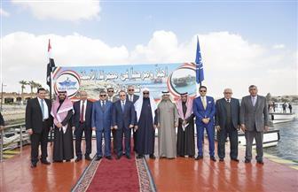 النائب العام السعودي: الإنجاز المحقق في قناة السويس يدل على وطنية المصريين وقيادة رشيدة للرئيس السيسي | صور