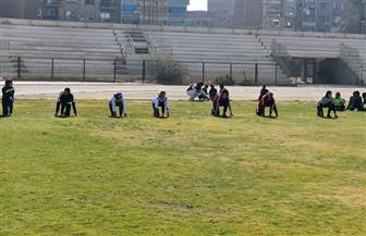 جامعة سوهاج تفوز بالمركز الأول في سباق 100 متر عدو