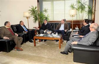 عبد المحسن سلامة يلتقي وفد لجنة «إفريقية النواب» | صور