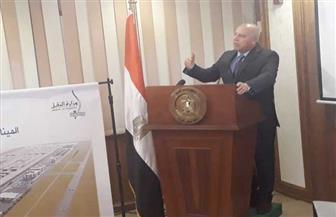 وزير النقل يعلن التحالف الفائز بإقامة أول ميناء جاف بمدينة 6 أكتوبر بنظام الشراكة مع القطاع الخاص | صور
