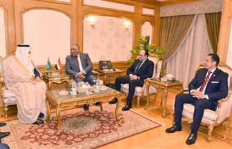 سفير السعودية بمصر يزور هيئة الرقابة الإدارية | صور