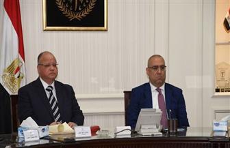 وزير الإسكان يتابع الموقف التنفيذى لمشروع محور الفريق إبراهيم العرابى