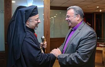 رئيس الإنجيلية لبطريرك الكاثوليك: زيارتكم تعكس محبة وفرحا كبيرا | صور