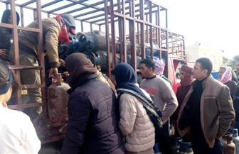 محافظ مطروح: أسطوانات البوتاجاز متوفرة وتلبي الاحتياجات المتزايدة للمواطنين | صور