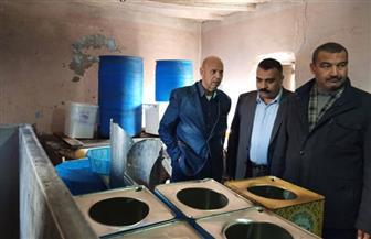 صحة الشرقية تقرر غلق مصنعين للأغذية بصان الحجر   صور