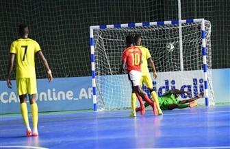 أنجولا تستهل مشوارها في أمم إفريقيا للصالات بفوز مثير على موزمبيق
