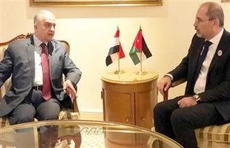 وزيرا الخارجية العراقي والأردني يبحثان تطورات القضية الفلسطينية
