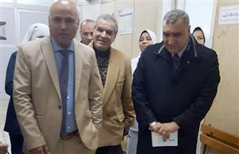 """وكيل """"صحة الغربية"""" يتفقد مستشفى السنطة المركزي ويوجه بالاهتمام بمعايير مكافحة العدوى  صور"""