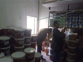ضبط 1859 كيلو أغذية منتهية الصلاحية بطور سيناء | صور